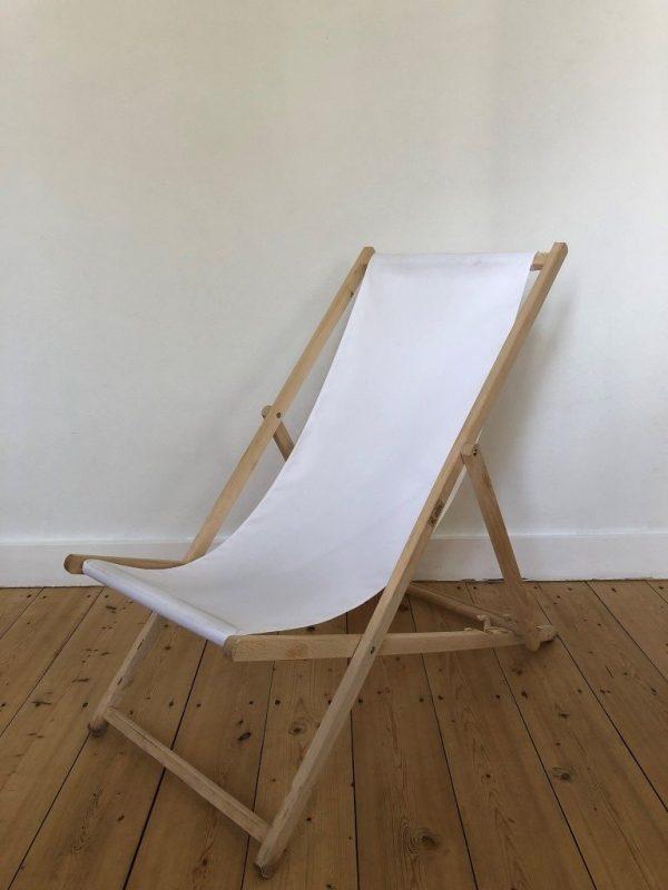 strandstoel wit