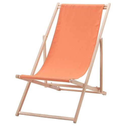 oranje strandstoel huren