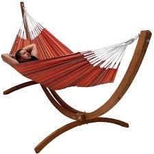 2 persoons houten hangmat standaard huren