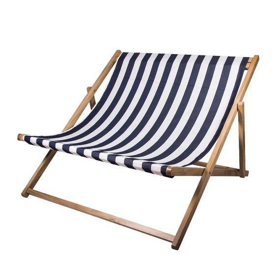 dubbele strandstoel 2 personen